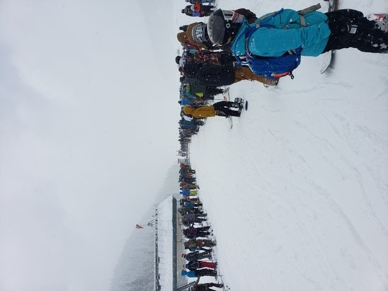 Purgatory - If you like 25 min lines and being stuck on chair 5 for 25 min then this is the place. Great conditions but went against my motto....don't ski weekends. Stood in line at chair 6 from 855am to 930am to open as they had to check the line. You would think you would have done this at maybe 7am? Even 8am? Its a weekend and you got dumped with snow!!! Figure it out!!! - © Anonymous