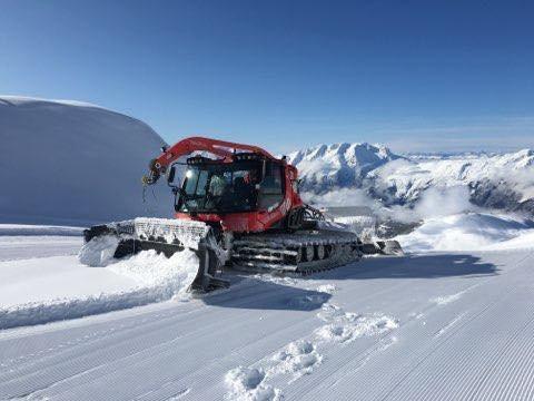Alpe d'Huez am 9. November 2019 - © Alpe d'Huez/Facebook