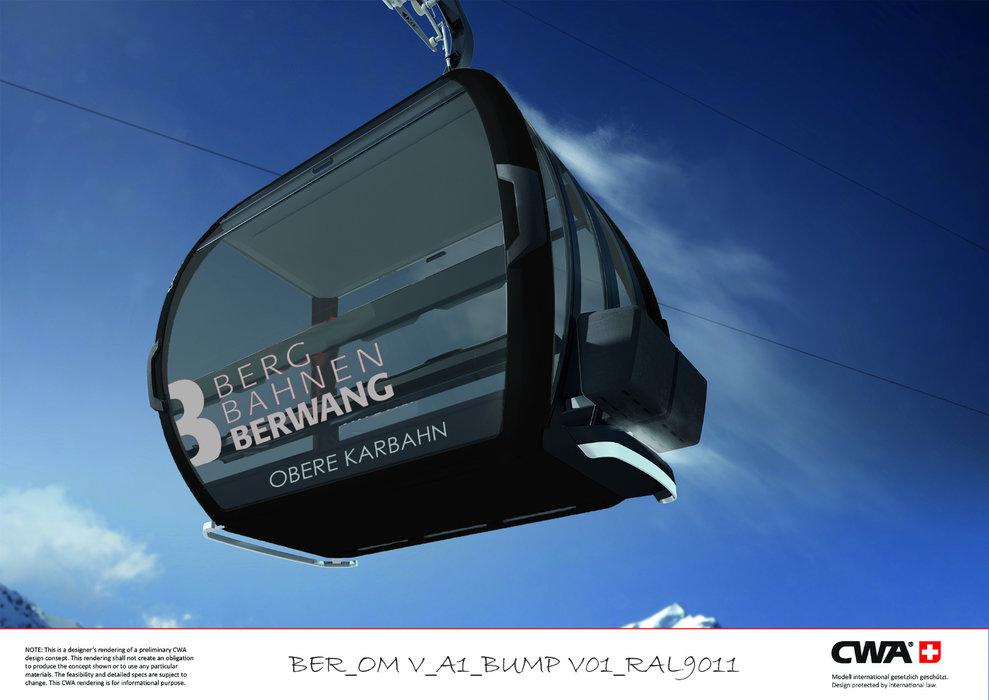 "Bis Dezember 2019 soll die ""Obere Kahrbahn I"" in Berwang fertiggestellt sein - © © CWA/Bergbahnen Berwang"