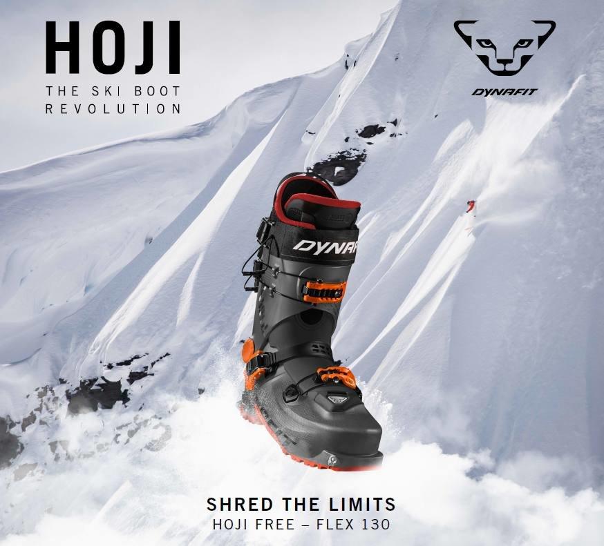 La nouvelle chaussure Dynafit HOJI FREE allie mobilité et confort pour la montée tout en conservant un niveau optimum de performance à la descente... - © Dynafit