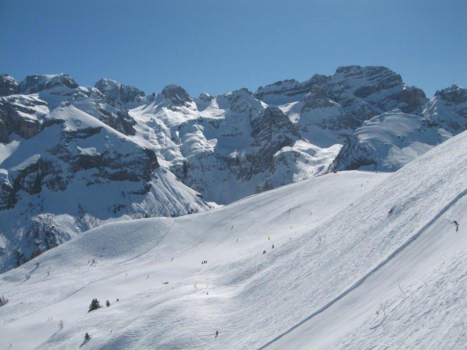 Neve e sole a volontà a Pinzolo, in Trentino