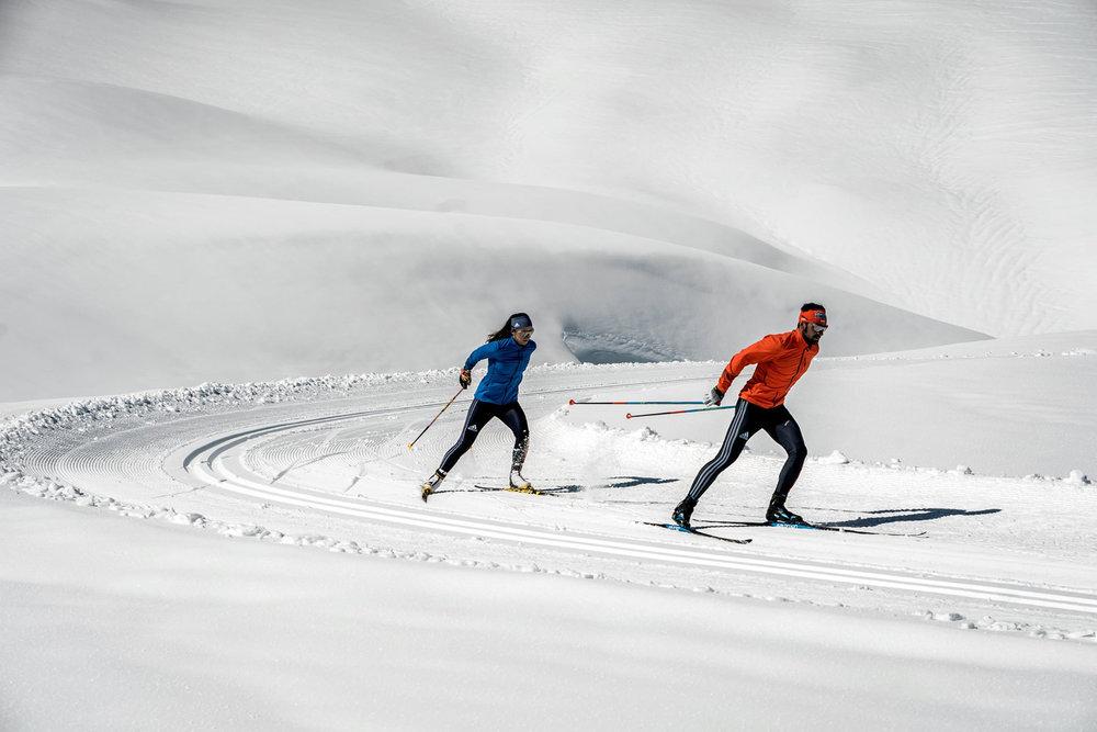 Langlaufen auf dem Pitztaler Gletscher - © Pitztaler Gletscher