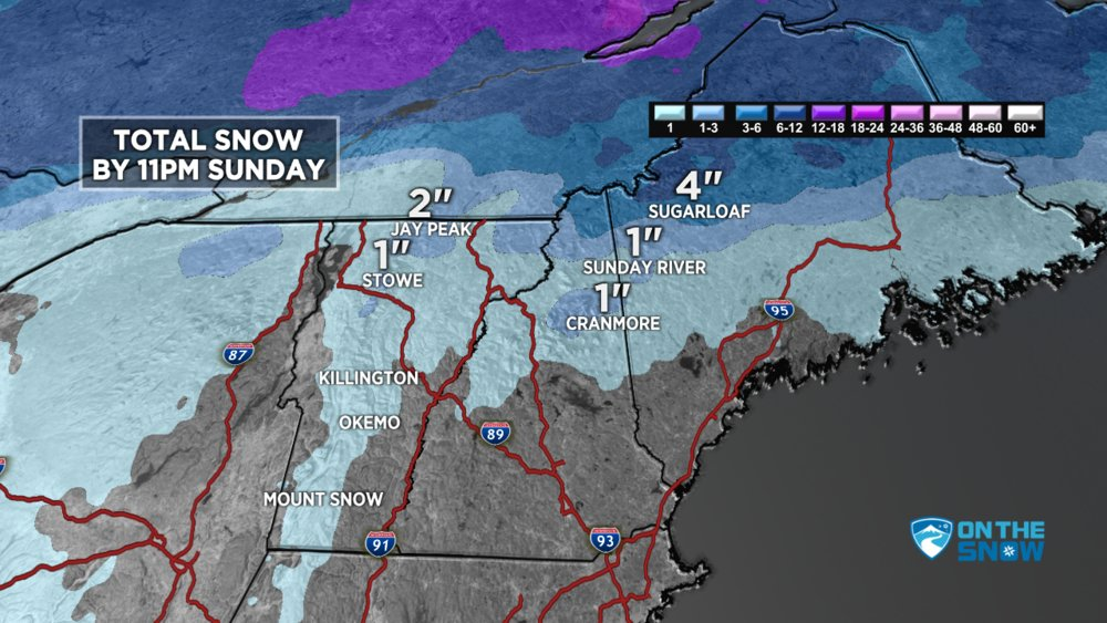 Snow Before You Go Forecast for the East - © Meteorologist Chris Tomer