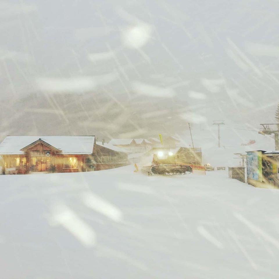 Viel Neuschnee auch in Loser - © Facebook Loser Bergbahen