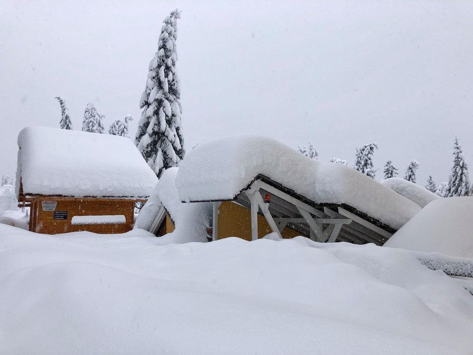 Schneemengen am Katschberg - © Katschberg