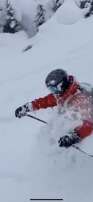 Whistler Blackcomb - Saturday was fat with 40cms of west coast pow - © Ertz