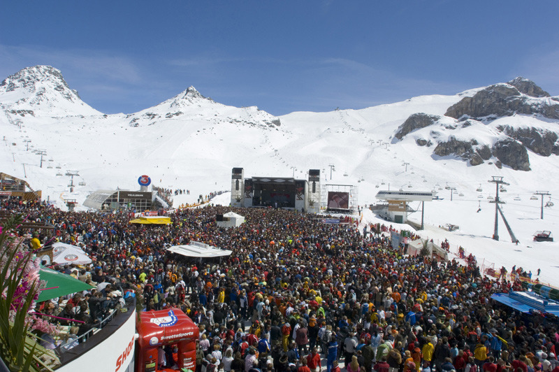 Top of the Mountains Konzert auf der Idalp - © Tourismusverband Paznaun – Ischgl