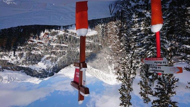 La Plagne - Super ski (alpin) apr - © Super pistes