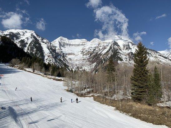 Sundance - The backside of Timp is always spectacular.  - © Dr Jones
