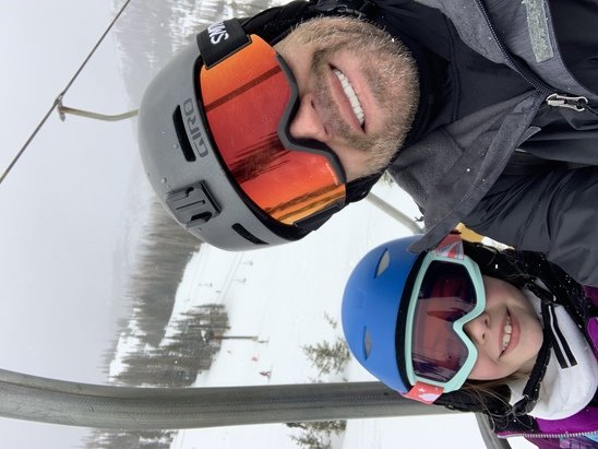 Wolf Creek Ski Area - Snow is great. Several inches yesterday 3/22. Great mountain. We have a large group. Easy to find each other at base.  - © Jeremy