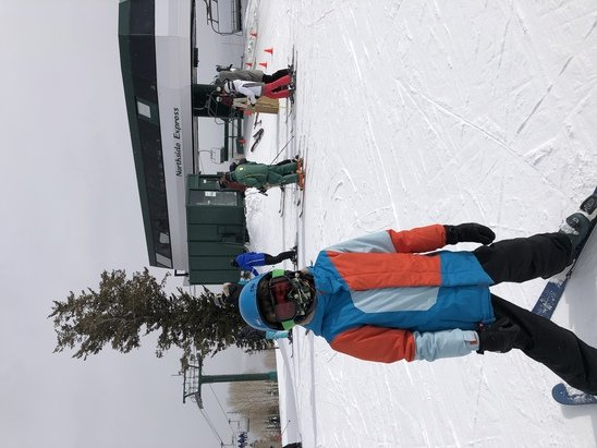 Deer Valley Resort - Great snow with 1-2 inches falling from late morning through afternoon. No lines, no crowds, best instructors. Great to be back skiing again! - © LonestarJ