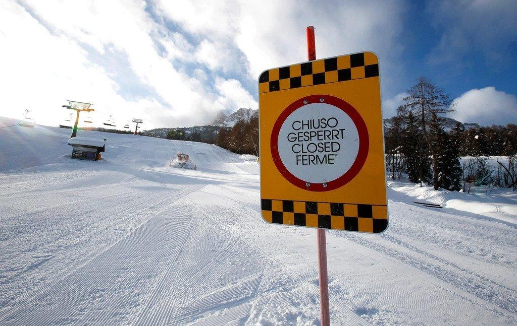 Italy's ski resorts are closed