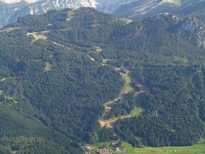 Netradiní pohled na proslulou trať Kandahar v Garmisch-Partenkirchen - © Garmisch-Partenkirchen Tourismus