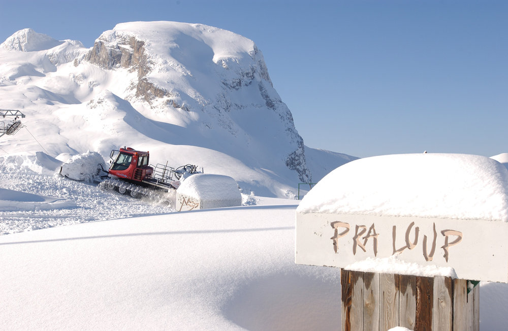 Powder slopes in Pra Loup, France - © Manu Molle