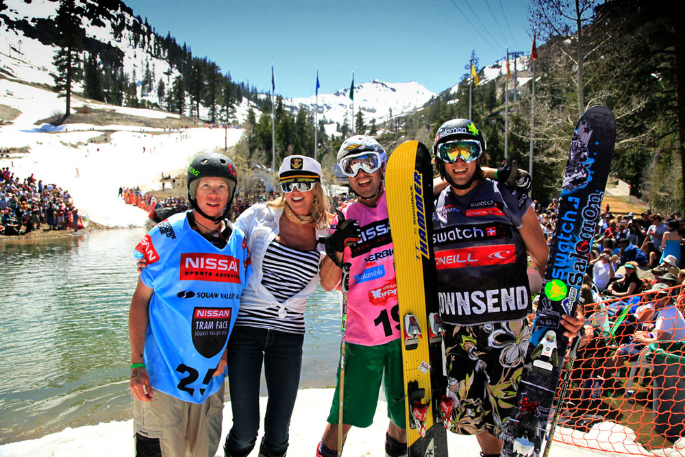 Spring Break Squaw Valley at Cushing Crossing - © Tom O'Neill