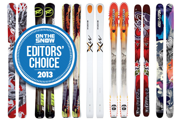 2013 OTS Editors' Choice Men's All Mountain Skis