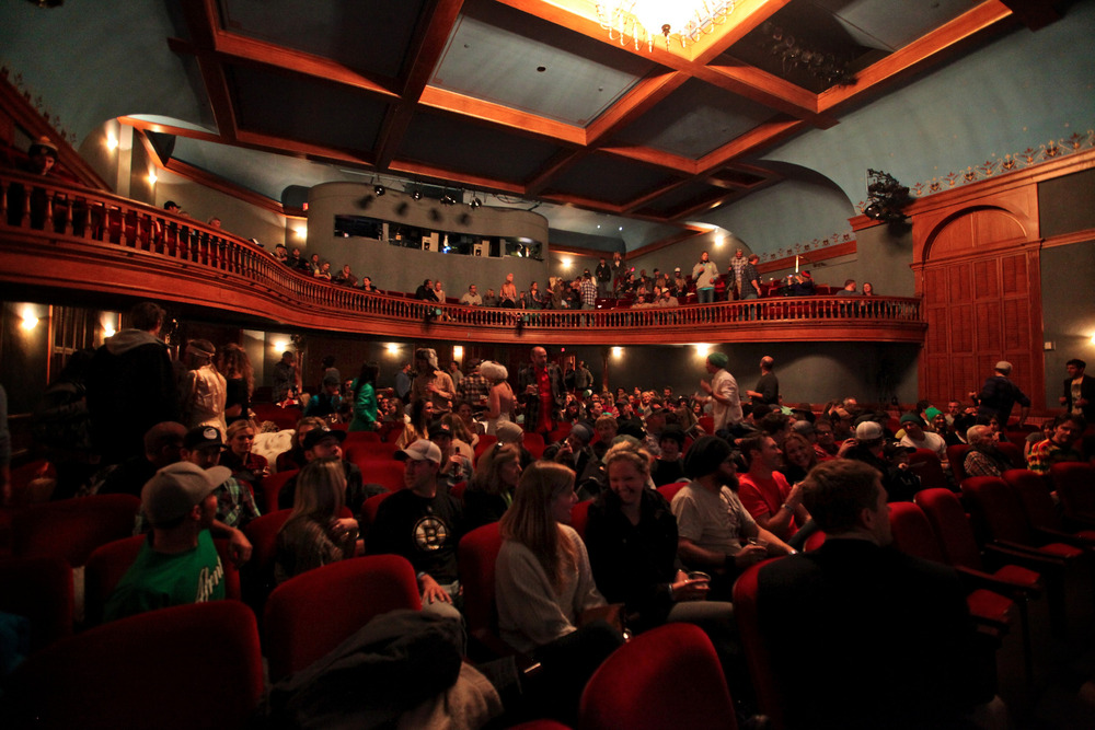 The Wheeler Opera House was packed for the NEPSA Awards - © Tim Shisler