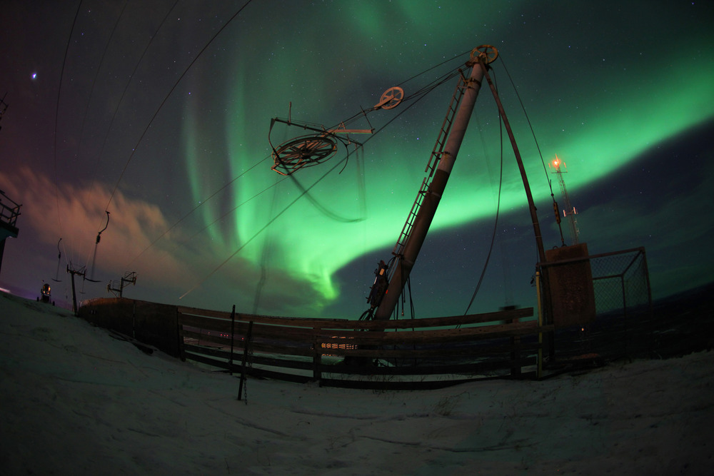 The northern lights in Sunny - © Level 1