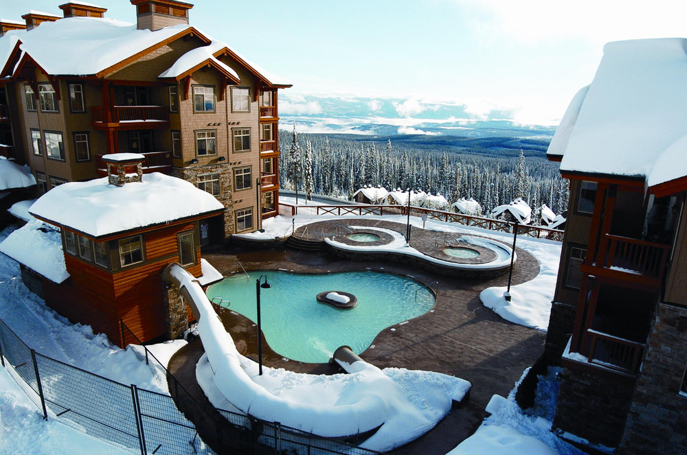 Lodging at Big White - © Big White Ski Resort