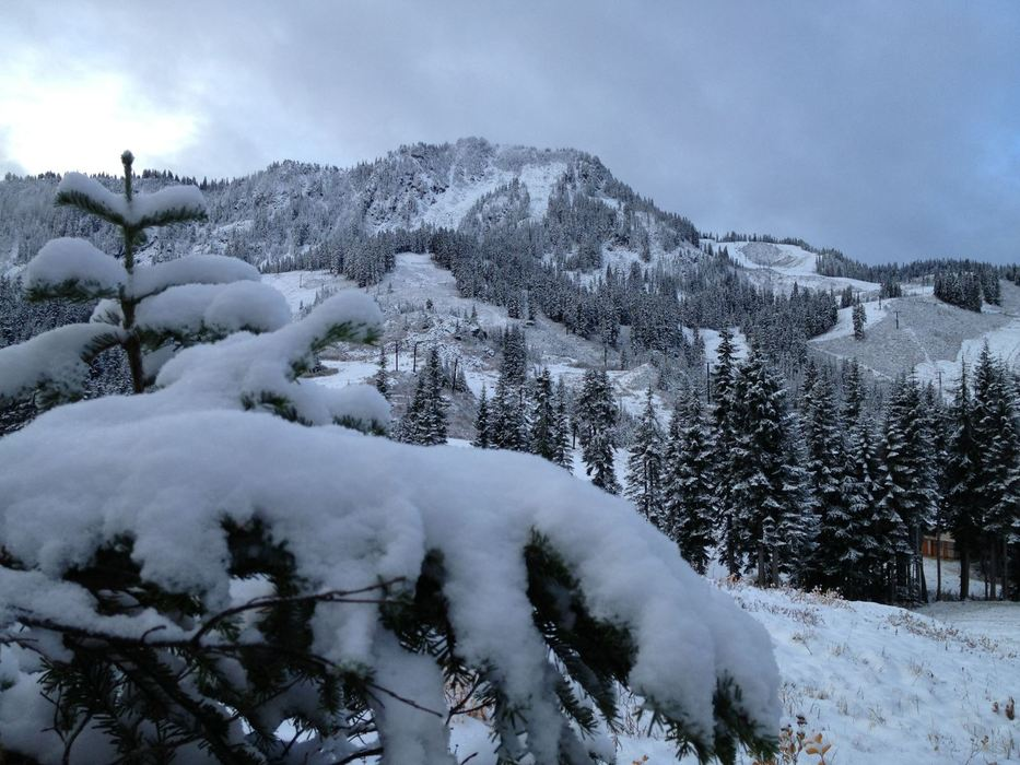 More snow at Stevens Pass. Photo:Stevens Pass/Facebook