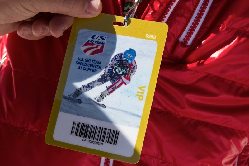 Each participant got a VIP lift ticket for the day. - © Liam Doran