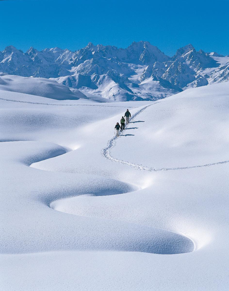 Schneeschuhlaufen in Verbier - © Verbier