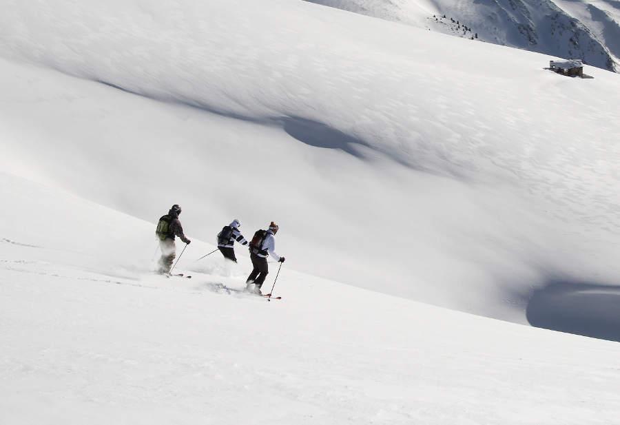 Avec ses atouts naturels, la Haute Maurienne Vanoise a toujours séduit les aficionados de sensations fortes - © Didier Givois