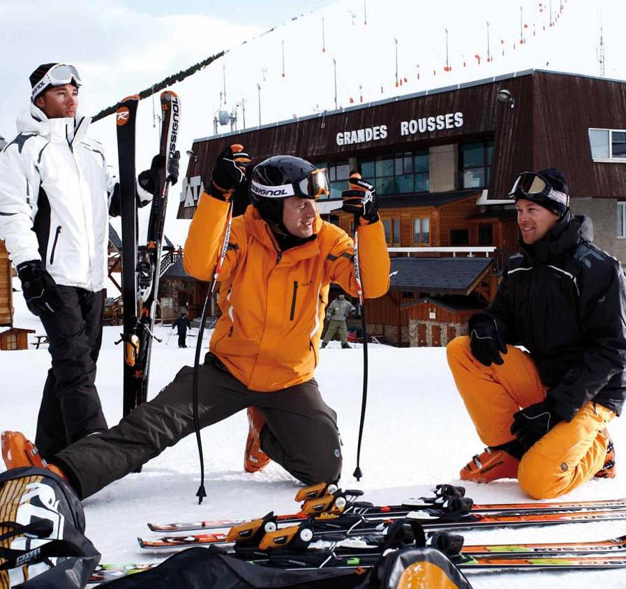 L'échauffement, à ne pas négliger pour éviter les blessures au ski - © Stefcande.com