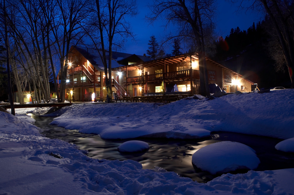 Cozying up for a good night's rest at the Sipapu Lodge - ©Courtesy of Sipapu Ski and Summer Resort