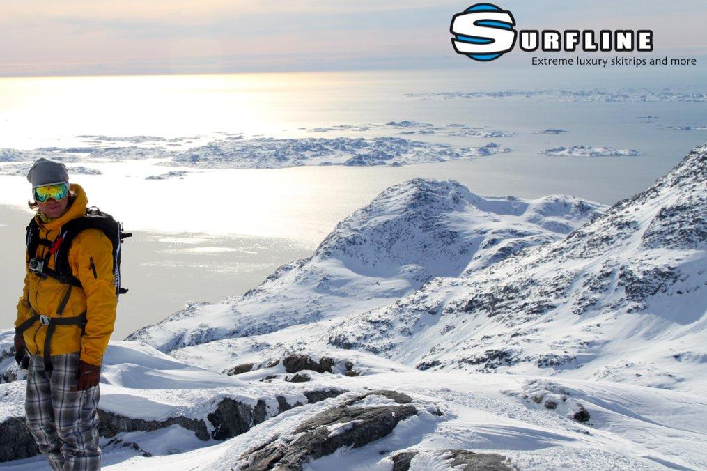 Arrangør Jeppe Hansen fra Surfline, Århus Surf og ski nyder udsigten - © Jeppe Hansen, Surfline