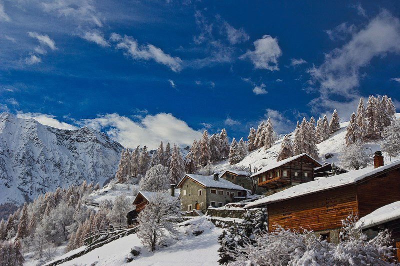 Fresh snow in Monterosa. Nov. 29, 2012