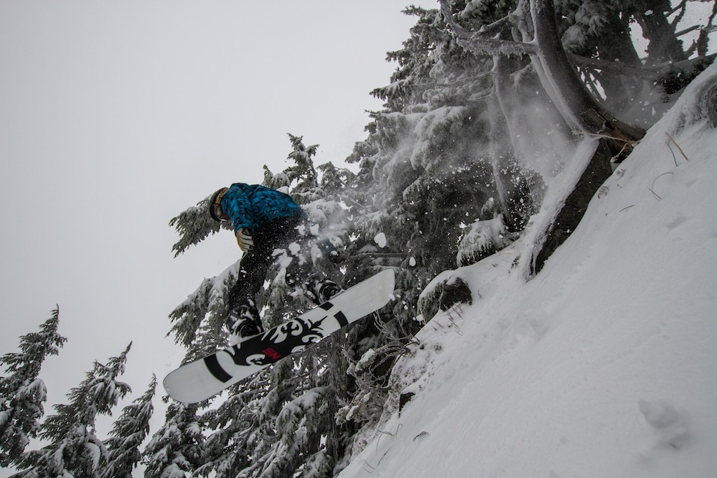 Riding at Mt. Hood Meadows - © Liam Doran