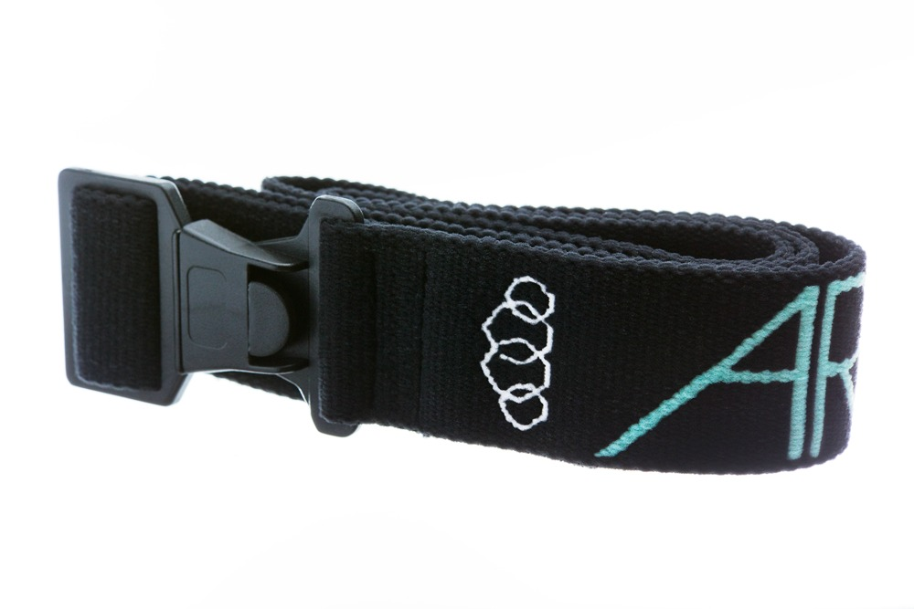 Arcade Standard Belt - The Arcade Standard belt is comfortable, stylish and dependable. The high-tensile elastic and commercial-grade plastic make this a rugged belt that has stylish appeal, and can be used when skiing, hiking or going out on the town. $24. - © Arcade Belts