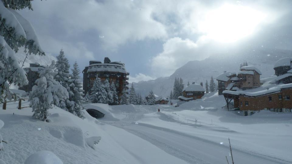 A very snowy Avoriaz, Dec. 13, 2012