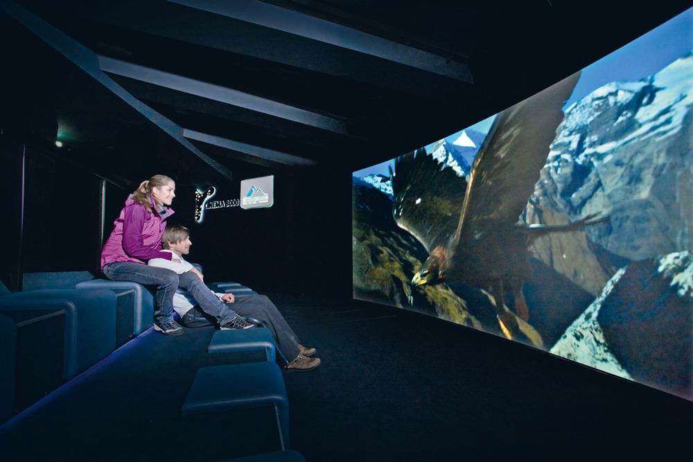 Cinema 3000 am Kitzsteinhorn - © Zell am See-Kaprun Tourismus GmbH