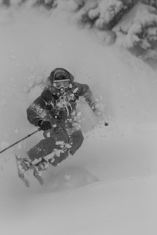 It was deep at Vail this week - © Jeff Cricco