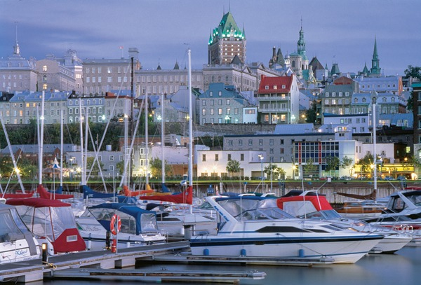 Quebec City offers old-world charm within 40 minutes of world-class skiing. - © Quebec City Tourism