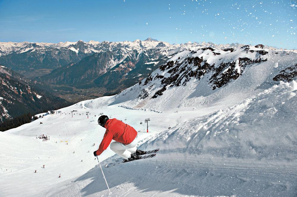 Diabolo – extrem steile Piste am Golm - © Montafon Tourismus