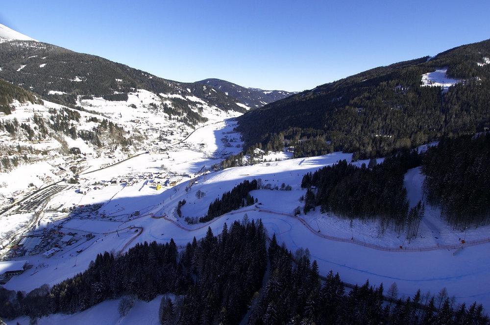 Weltcup-Feeling auf der Steilpiste: Die Franz Klammer Stich in Bad Kleinkirchheim. - © Bad Kleinkirchheimer Tourismus Marketing GmbH