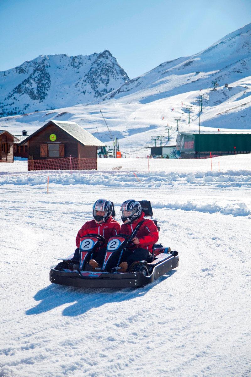 Ice Karting in Formigal - © Formigal