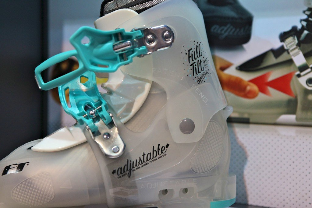 There's more to ski boots than just classy design, however, this boot from Full Tilt looks good on the slopes. - © Tim Shisler