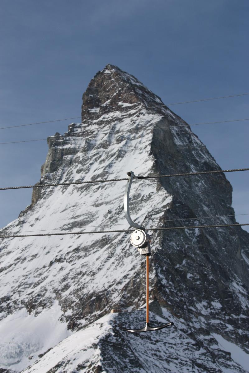 De Hörnli skilift in Zermatt