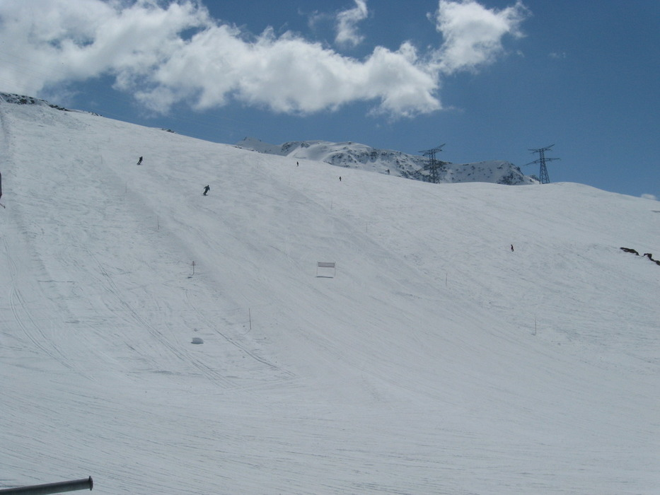 La Thuile - Le piste in area Piccolo San Bernardo - © A. Corbo