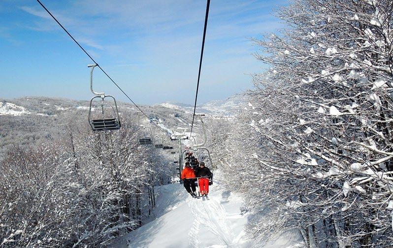 Schia Monte Caio - Seggiovia Pian delle Guide
