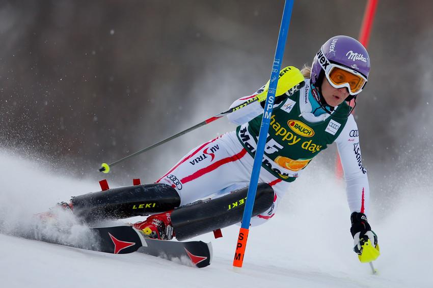 Super Ergebnis: Michaela Kirchgasser wird Fünfte - © Stanko GRUDEN/AGENCE ZOOM
