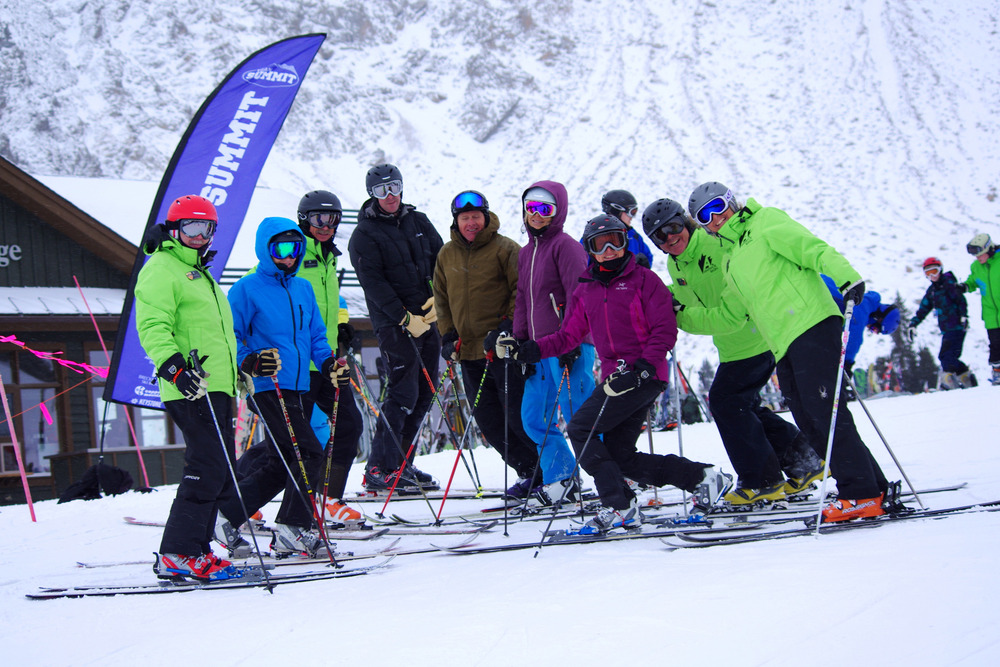 Learn to ski or ride with an instructor at Arapahoe Basin. - ©Photo courtesy Arapahoe Basin.