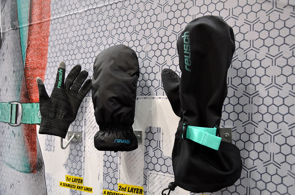 Reusch's new 3-layer freeride glove - © Skiinfo