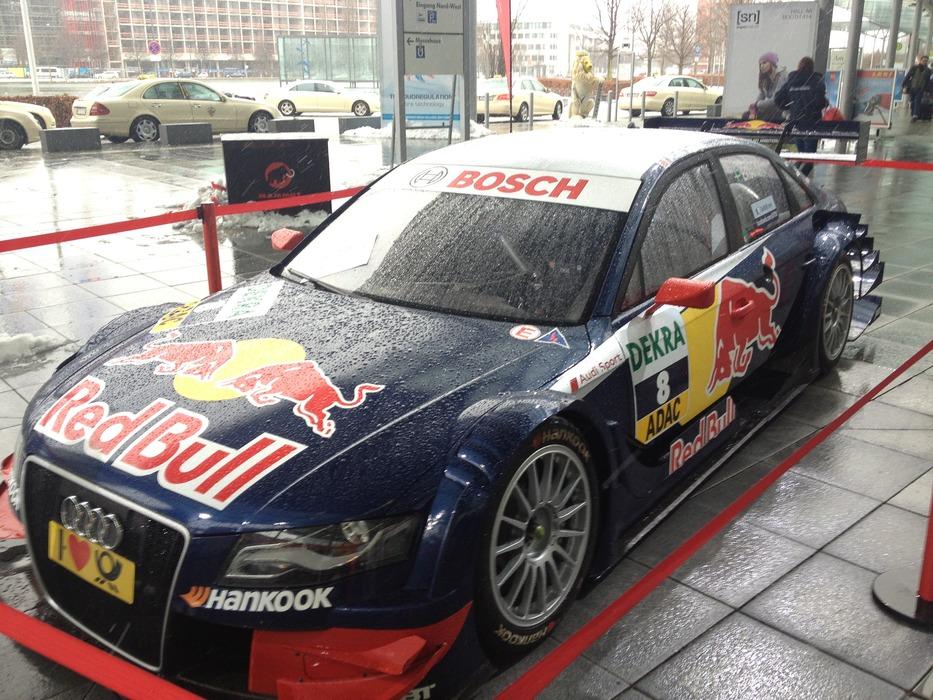 Red Bull er selvfølgelig med - © Jeppe Hansen / Skiinfo.dk