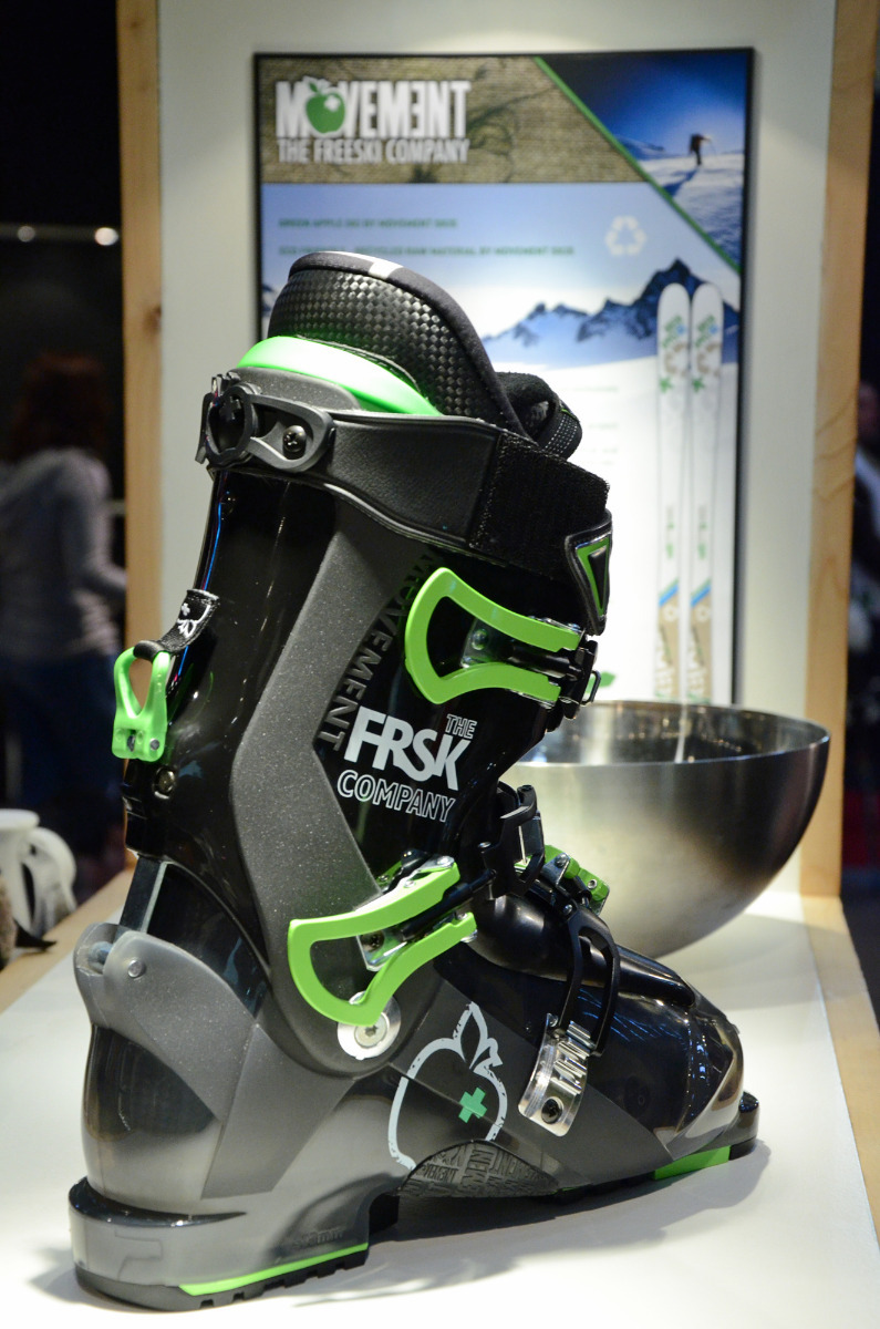 Neuer Tourenski-Boot bei Movement - © Skiinfo