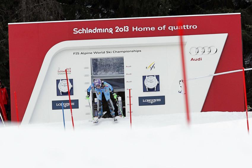 Tina Maze führte nach der Kombi-Abfahrt, verlor im Slalom aber den Kombi-Titel an Maria Höfl-Riesch. Silber war ihr aber sicher. - © Christophe Pallot/AGENCE ZOOM